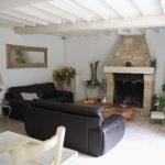 Décoration salon avec cheminée