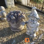 Decoration de jardin en beton