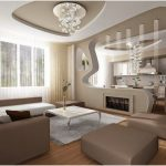 Decoration salon plafond