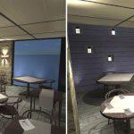 Décoration intérieur restaurant