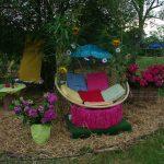 Decoration jardin fete