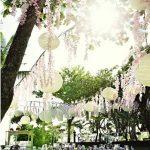Idee decoration jardin pour mariage