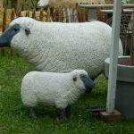 Mouton décoration jardin