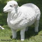 Mouton decoration de jardin