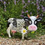 Vache décoration jardin