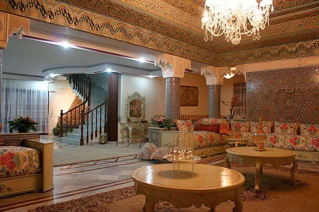 Decoration maison marocaine platre