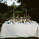 Décoration mariage jardin romantique