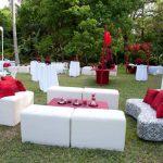 Décoration de jardin pour mariage