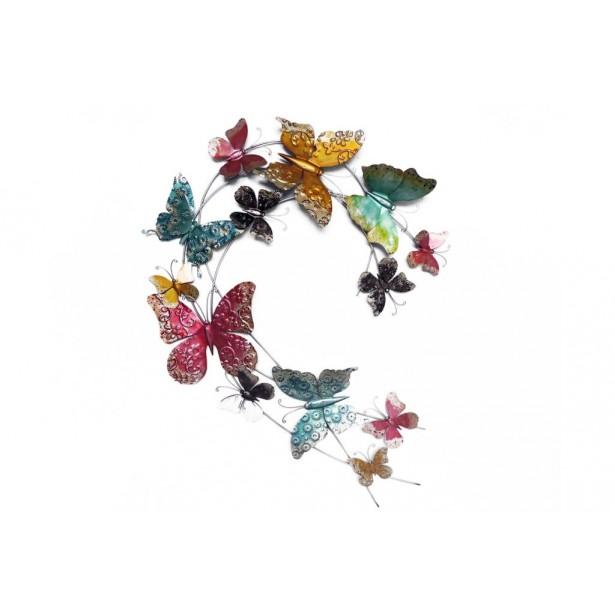 Decoration murale papillon