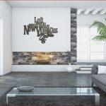 Decoration murale séjour