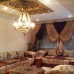 Decoration plafond salon marocain