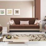Decoration interieur beige et marron
