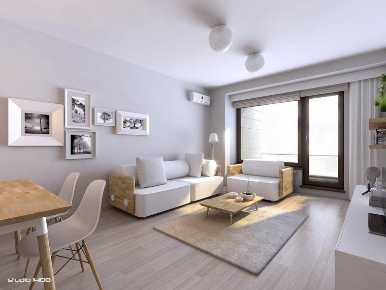 Decoration interieur gris et bois - Design en image