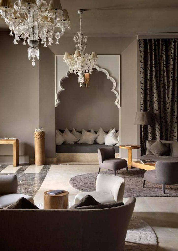 Décoration salon marocain moderne