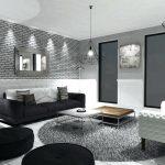 Décoration salon en gris et blanc