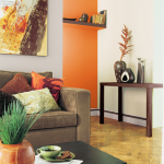 Decoration maison couleur orange
