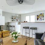 Décoration salon moderne + cuisine