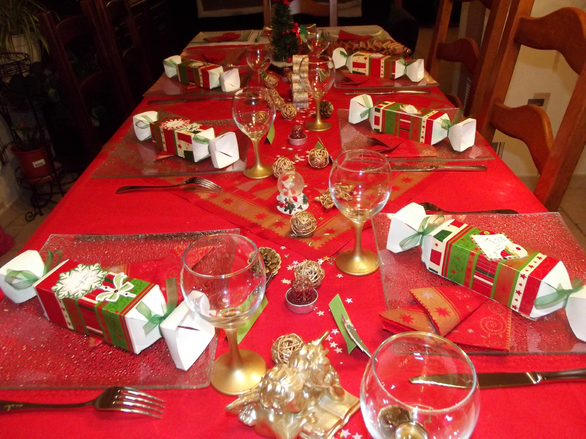 Decoration De Noel Table