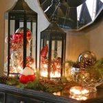 Decoration de noel dans une maison