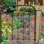 Entretien decoration jardin metal