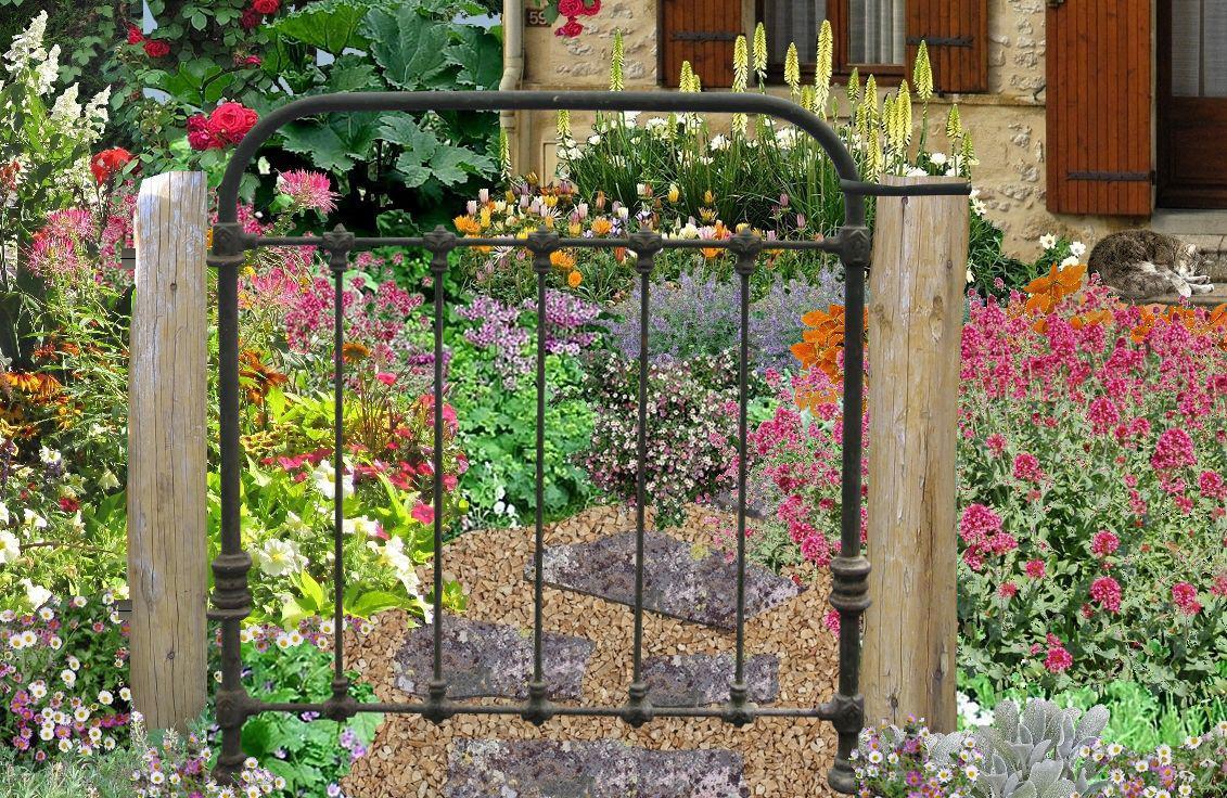 Entretien decoration jardin metal - Design en image