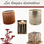 Décoration bougie design