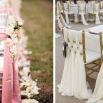 Decoration chaise jardin mariage