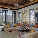 Décoration salon style oriental