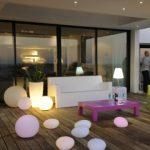 Decoration jardin lampe
