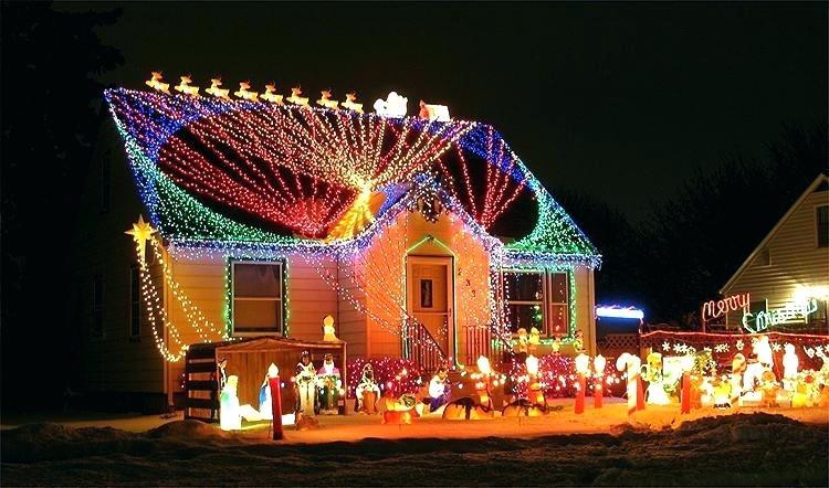 Eclairage Exterieur Noel Maison