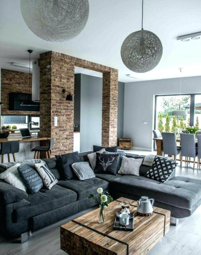 Decoration de salon industriel - Design en image