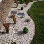 Décoration de jardin en pierre