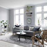 Decoration gris salon