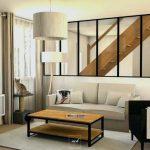 Decoration salon industriel