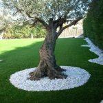 Galets decoration jardin
