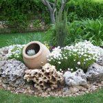 Pierre de decoration pour jardin