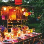 Decoration fetes jardin