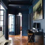 Maison decoration bleu