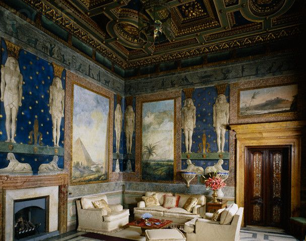 Décoration salon style renaissance