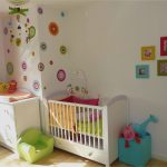Décoration murale chambre bébé mixte