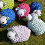 Decoration jardin mouton