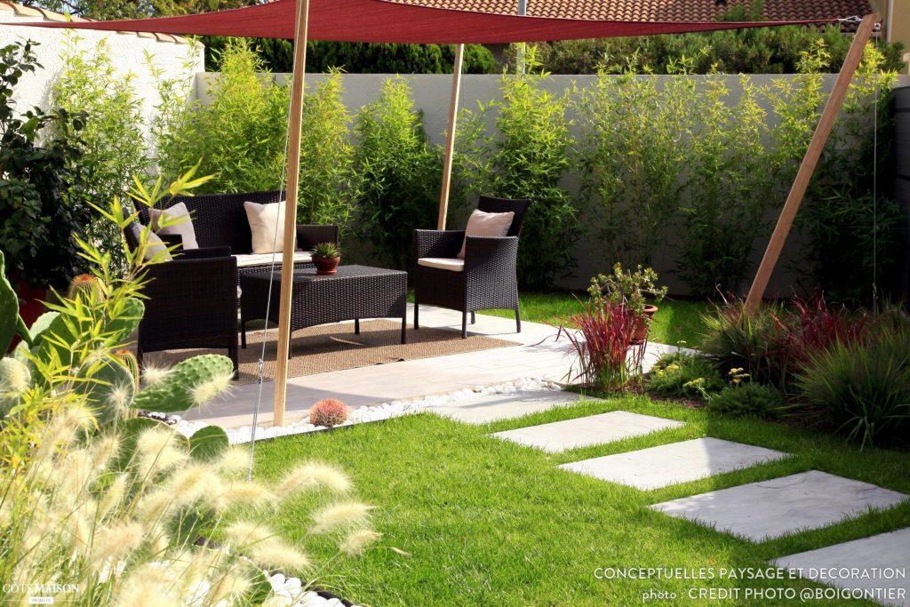 Decoration de jardin fait maison - Design en image