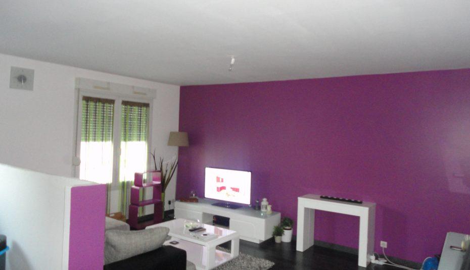 Decoration maison gris violet