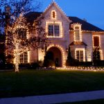 Decoration noel maison lumineuse