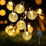 Decoration lumineuse solaire jardin
