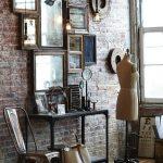 Decoration murale vintage salon