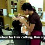 Salon decoration video