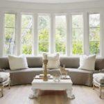 Decoration salon blanc beige gris