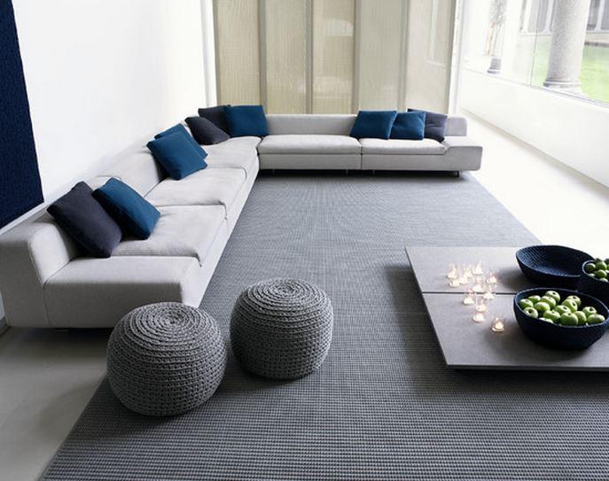 Decoration maison bleu et blanc - Design en image
