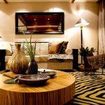 Decoration salon a l'africaine